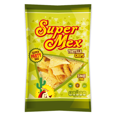 Super tortilla chips