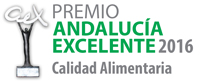 Premio Andalucia Excelente - Calidad Alimentaria 2016