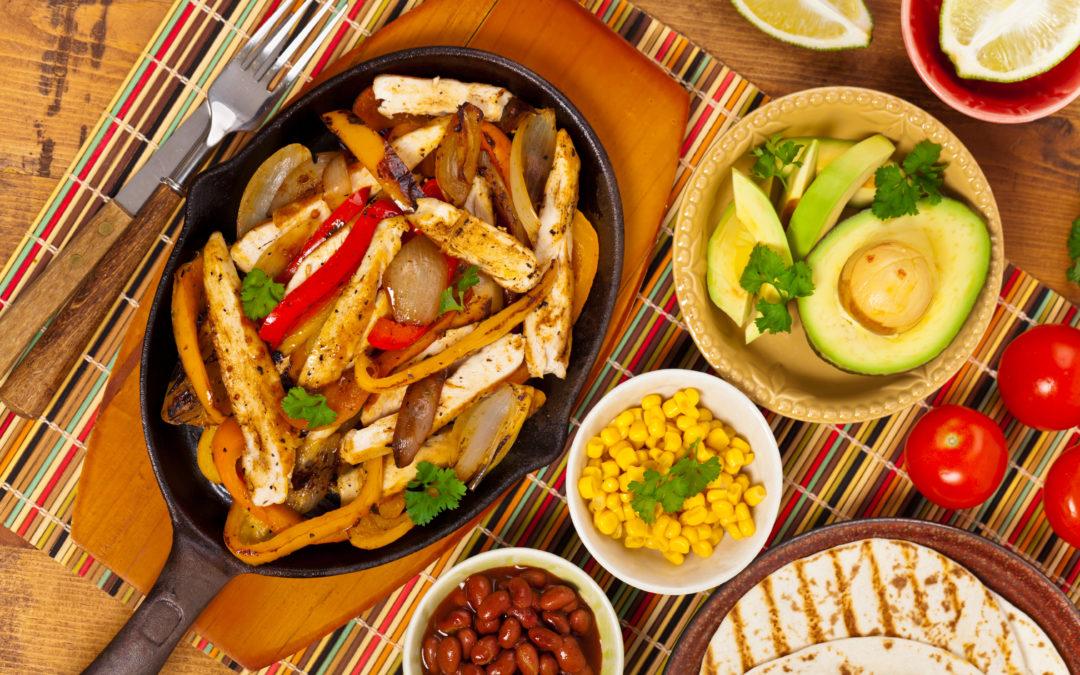 Super-Mex Style Chicken Fajitas