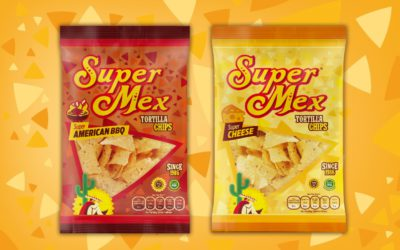 New bags design for our flavored Tortilla Chips