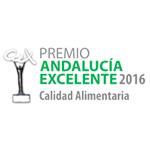 Premio Andalucía Excelente - Calidad Alimentaria 2016