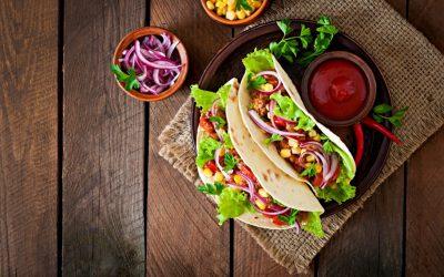 Tacos blandos de carne